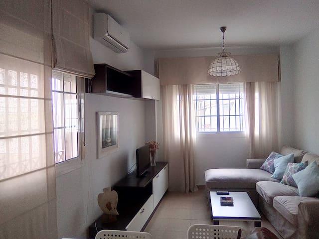 Apartamento en Punta Umbría, acogedor muy luminoso