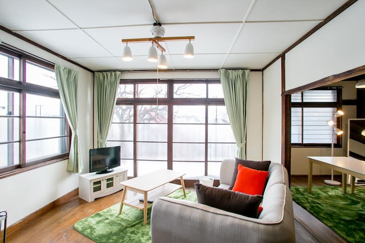 VILLA 10minutes from Otaru Sta. and Free for 2cars