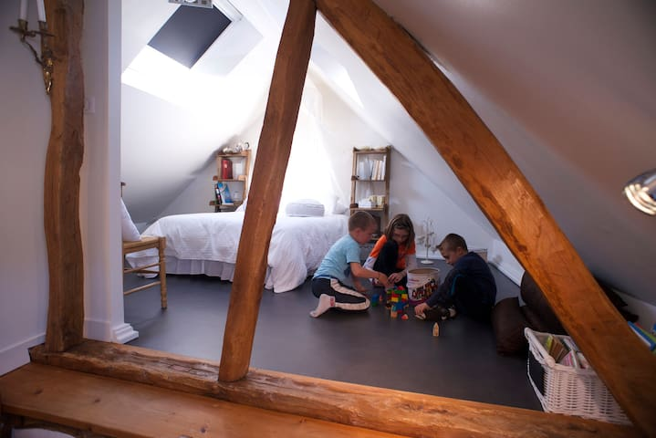 CHAMBRE HORTENSE : cocooning - Acheux-en-Amiénois - Bed & Breakfast