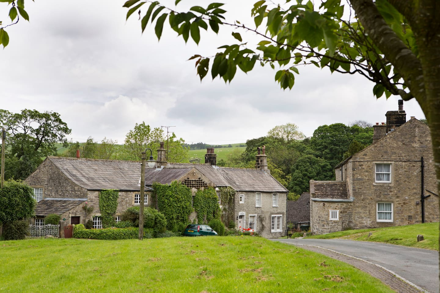The picturesque Dales village of Airton