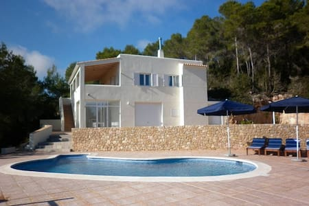 beautiful views with pool in ibiza - Sant Miquel de Balansat - บ้าน