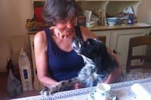 my fantastic austrian guest