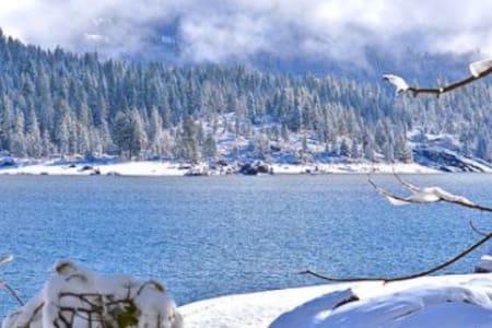 Shaver Lake Chalet - Kisház