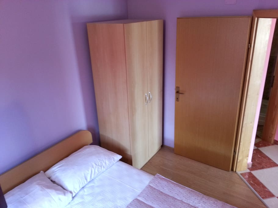 Comfortable room with double bed