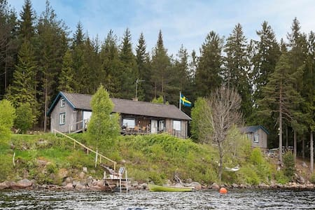 Swedish dream house at the lake