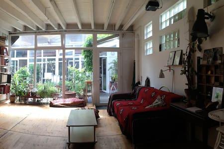Atypique, près métro, maison loft - Montreuil - Loft