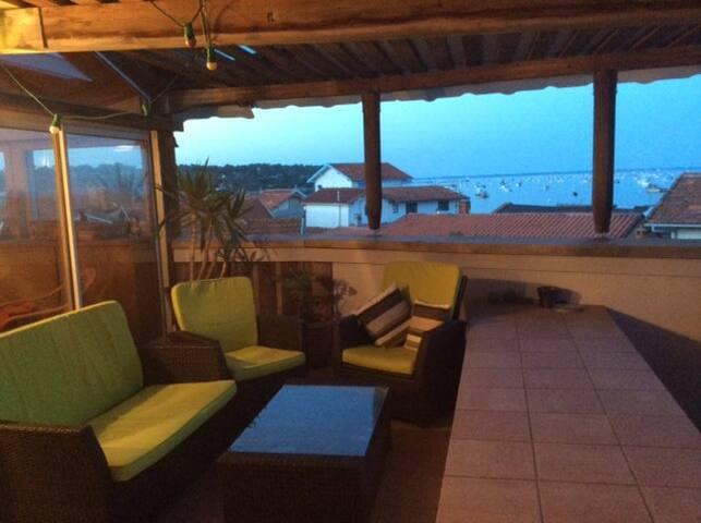 Maison au bord de l'eau - Piraillan - Lège Cap Ferret