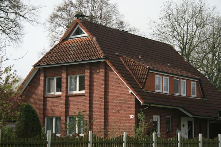 Gemütliche Wohnung in ruhiger Lage - Osterholz-Scharmbeck - Apartment
