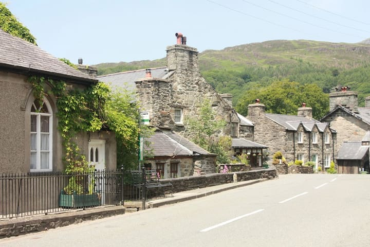 Glanddwyryd Eco B&B: Blue room - Maentwrog - Bed & Breakfast