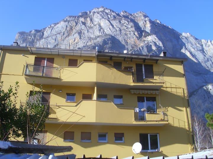 appartamento vista montagna