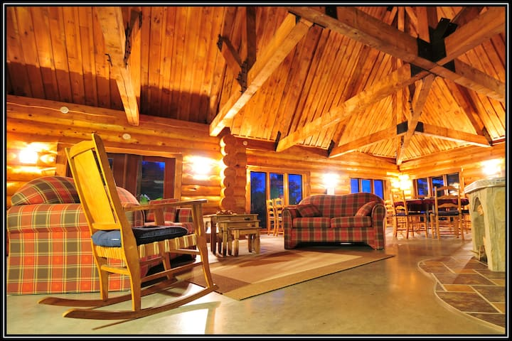 Log home - Rawdon - Bed & Breakfast