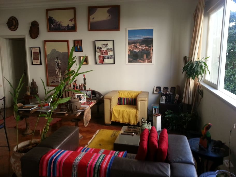 African-style living-room - sala africana