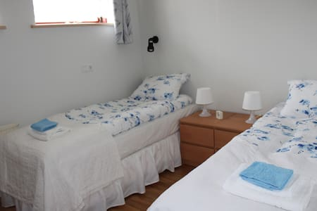 Double or twin room on a horsefarm - Laugarvatn