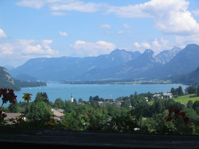 Alpine Garden Suite, 1-bedroom apt - Strobl - Departamento