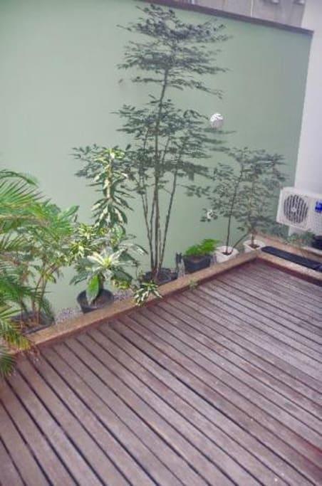 Jardim de inverno interno