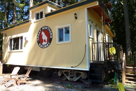 Pirate's Cove Caboose -Puget Sound  - Shelton