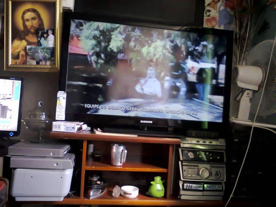 Televisões a uso