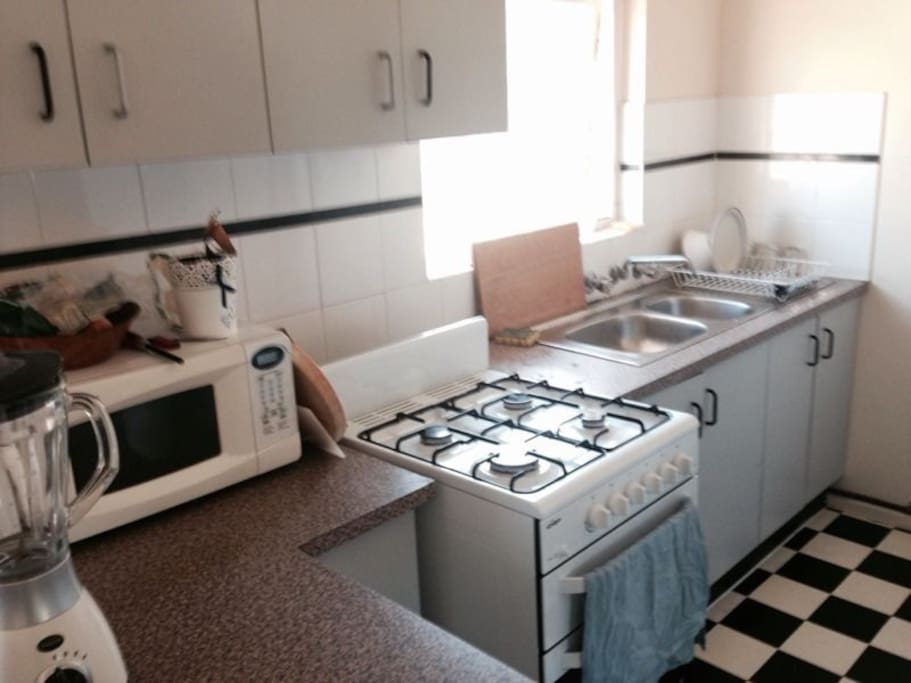 Fully functioning Kitchen Area