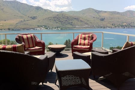 Amazing lakeview home in Chelan WA - 셜랜
