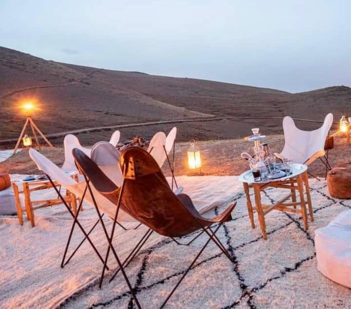 Bivouac désert et montagne/authenticité et confort