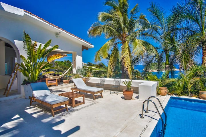 BeachVilla! Pool, SunDeck Best Views! AC 2of4