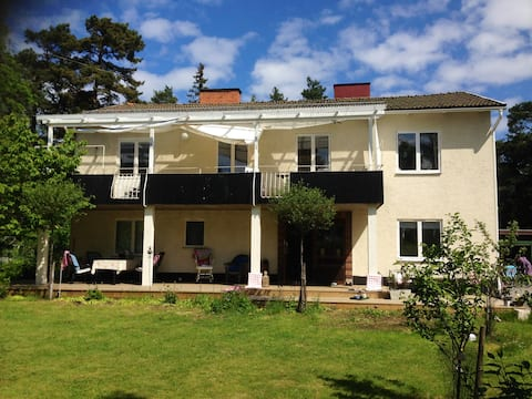 Generous house close to Stockholm