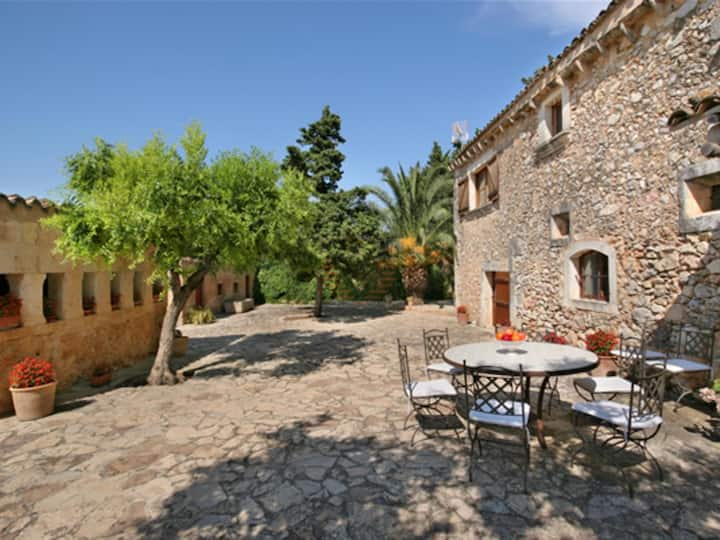 Es Rafal, country house in Buger, Mallorca