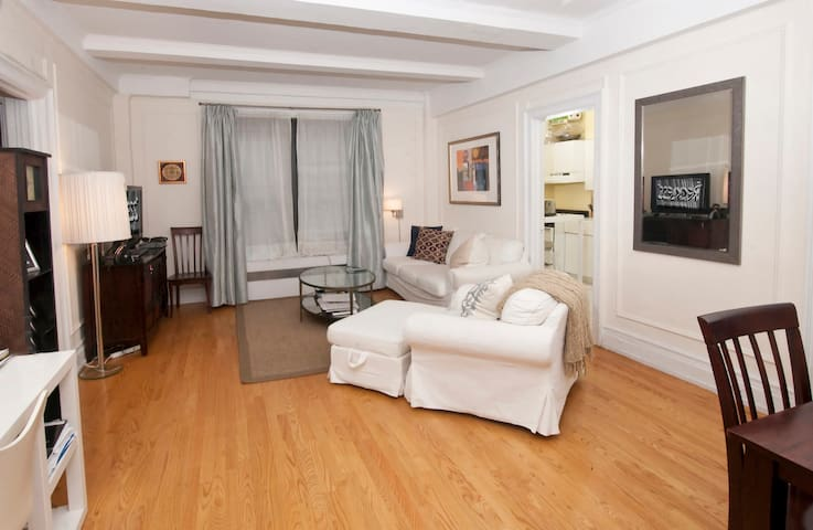 Spacious 1-bedroom in heart of NYC