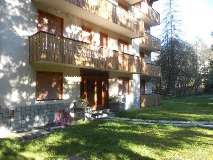 Cozy apartment in central Champoluc.
