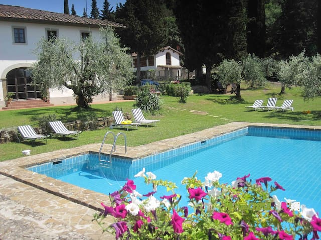 vacation rentals   in Tuscany Italy - Greve in Chianti - House