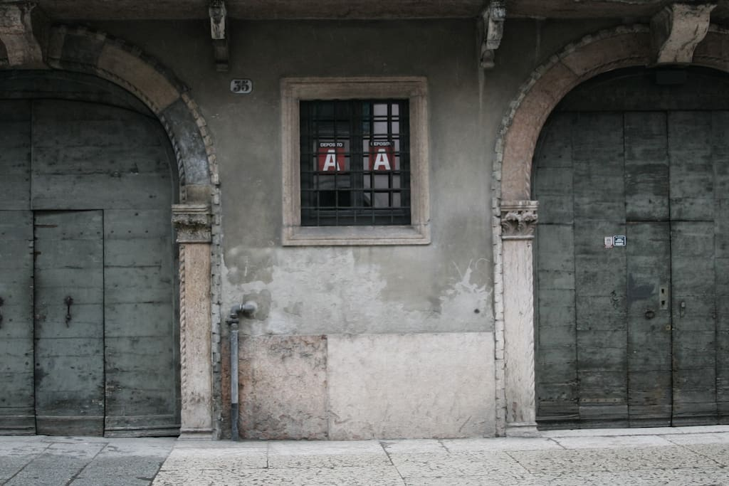 portale d'ingresso rinascimentale
