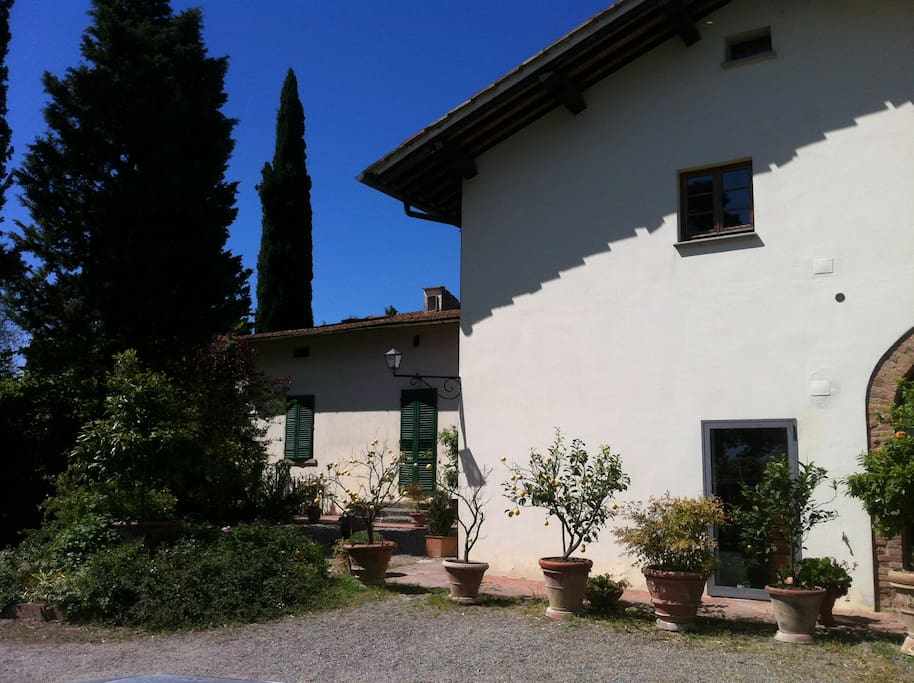 Villa gabriella houses for rent in castelfiorentino for Rent a house in tuscany