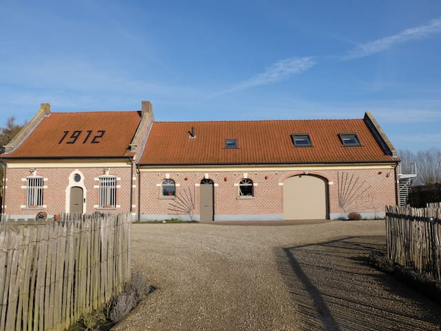 Vakantie-appartement in boerderij in Lier