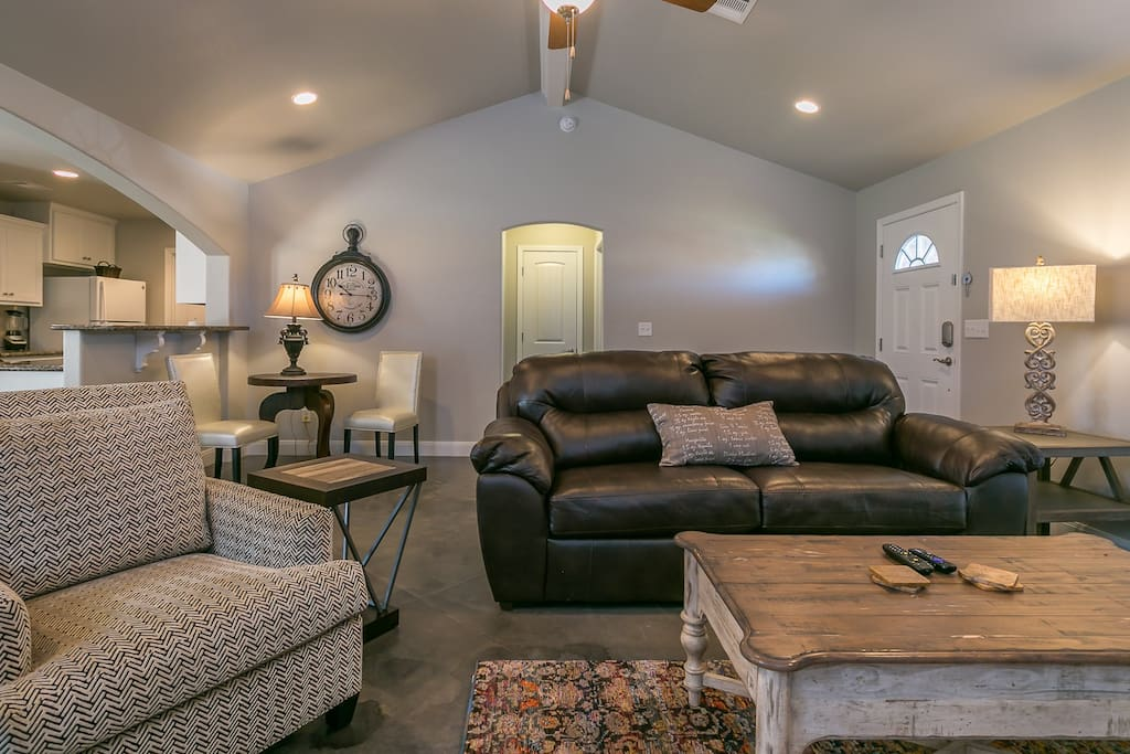 Living area with comfortable seating for everyone