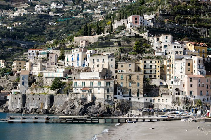 holiday home in Minori - amalficoas