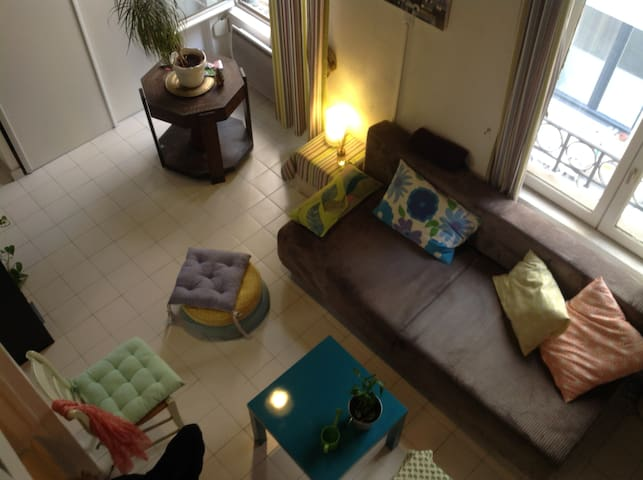 VILLA SUR LE TOIT MER-SOLEIL ANTIBE - Lyon - Wohnung