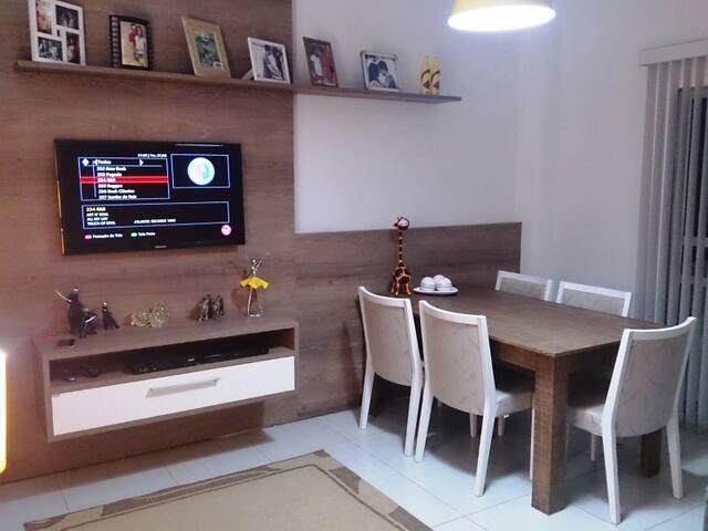 Apartament with 2 bedrooms - Cuíaba - 公寓
