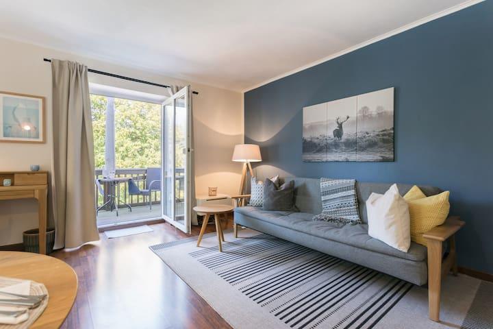 Apartment NORDIK - Exklusiv im Villenviertel