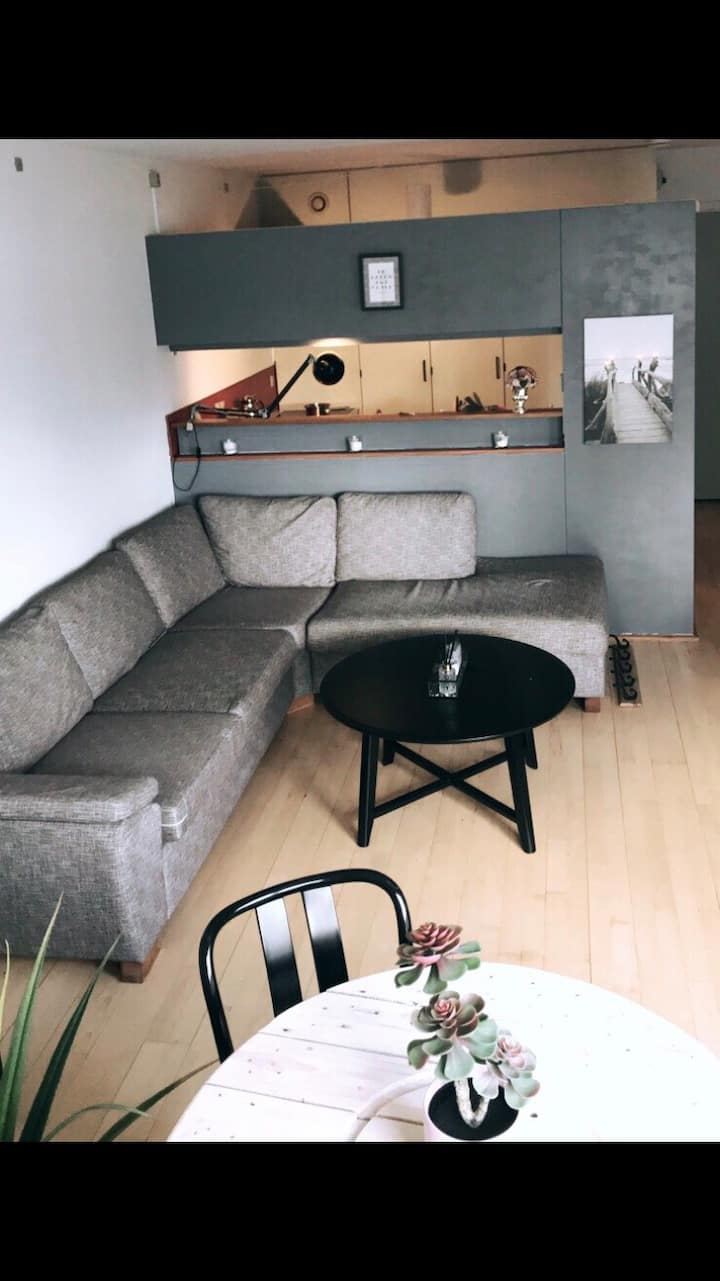 Luxury location and a cozy apartment