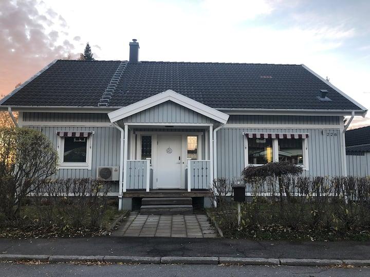 Hyres hus under Skidskytte VM  i Östersund