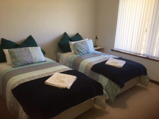 Bedroom 2  (2 x KS Beds)