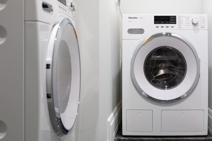 Miele washing and drying machines стиральная и сушильная машины Miele