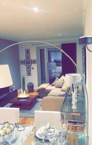 Luxurious safe flat next to station - London - Apartemen