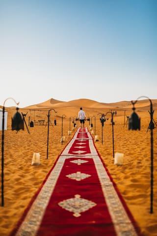Private Tent in Sanmao Desert Luxury Camp
