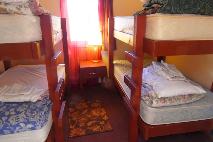 (*P4) Private Room/4 Bunk Beds (Main Dorm)