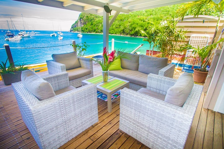 HOTEL APPARTEMENT GITES AQUARELLE GUADELOUPE