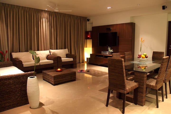 Lavish & spacious apartment in Juhu - Mumbai - Wohnung