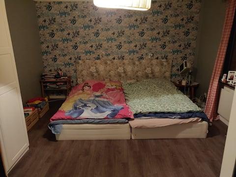 Room perfect for short stops in Jokkmokk