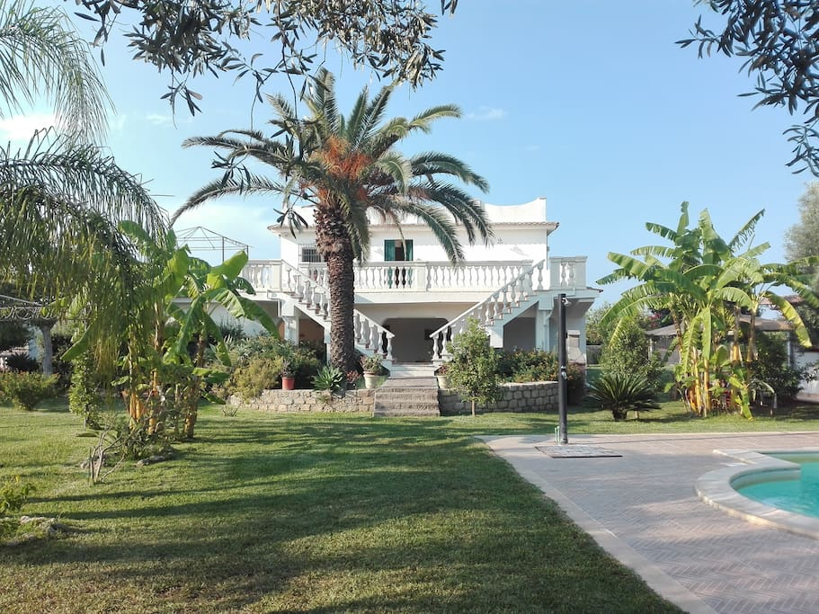 Villa Augusta,  a paradise where you can spend your holidays with your family and your friends!