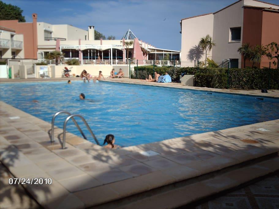 Piscine Hôtel Capao, avec accès
